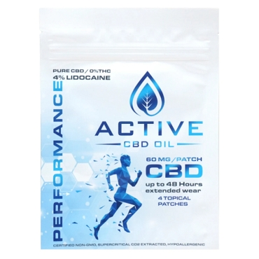 Active CBD Performance Patch - 60mg