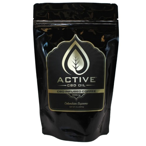 Active CBD Oil - CBD Infused Coffee - 500mg