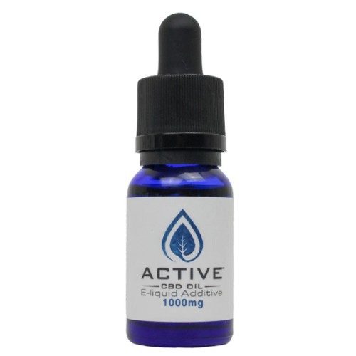 Active CBD oil E-Liquid additive - 1000mg